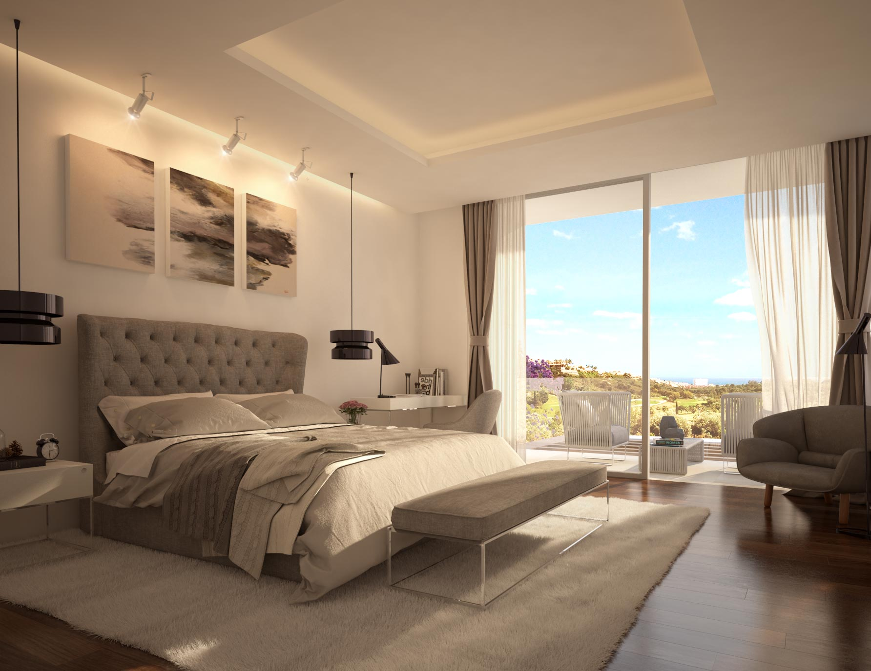 Interiorismo en casas de lujo en marbella areadesign for Casas de ensueno interiores