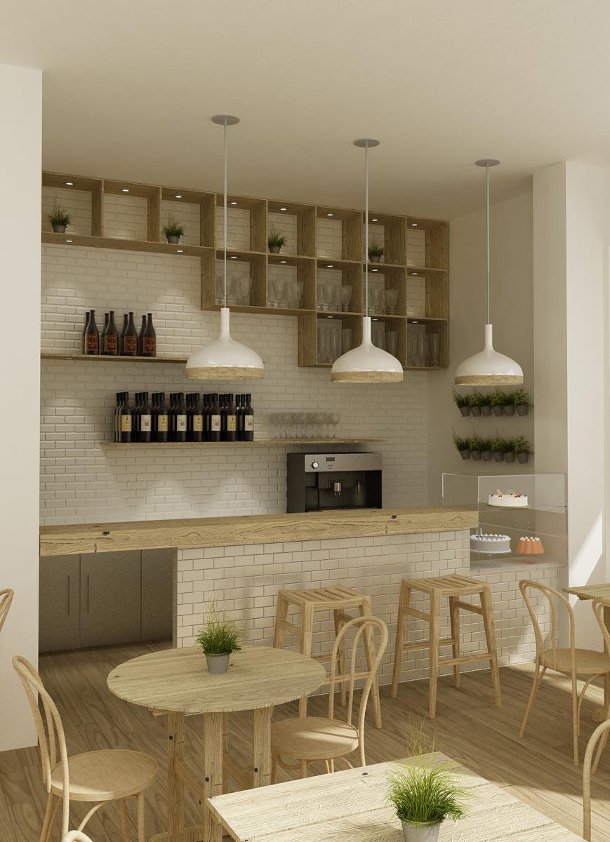 Proyectos de interiorismo en marbella para negocios - Diseno cafeterias modernas ...