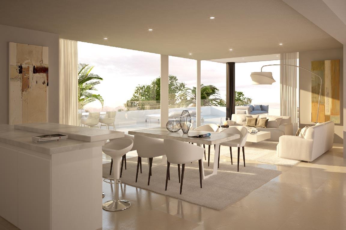 Villas de lujo en marbella proyecto arquitect nico - Fotos de interiorismo ...